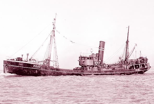 Goth Fleetwood trawler