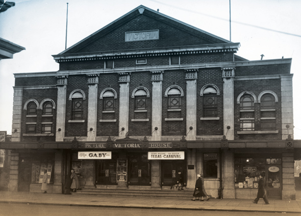 The Victoria Theatre in Fleetwood