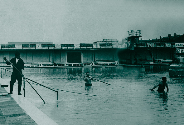 Fleetwood swimming baths