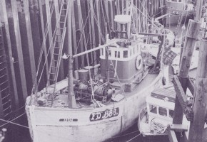 Fleetwood trawler Ideal