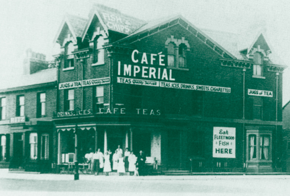 Cafe Imperial - eating out in the Fleetwood of yesterday