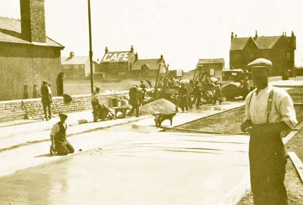 Beach Road, Fleetwood, Lancashire (formerly Cemetery Road)
