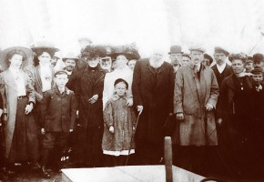 The launch of Fleetwood fishing smack Harriet