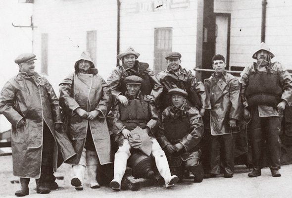Fleetwood lifeboatmen