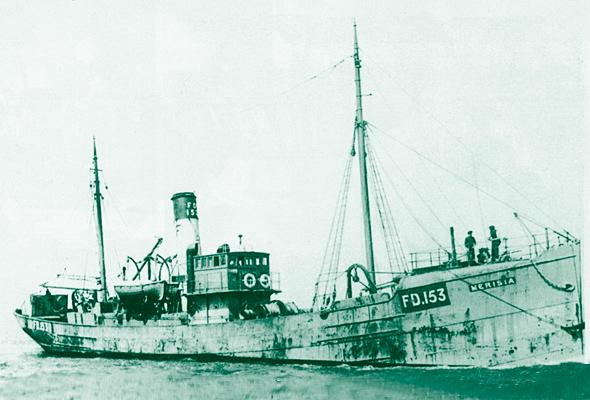 Fleetwood trawler Merisia