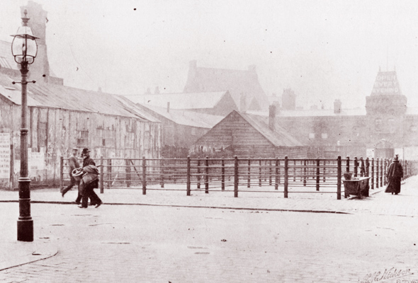 Fleetwood Market in 1908
